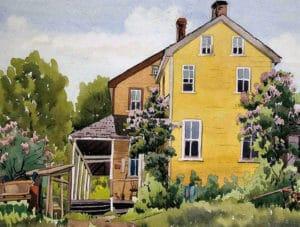 7-Packers-Farmhouse-11x14-Watercolour-1951-300x227