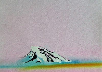 Arctic-Island-Pink-Sky-Sketch-12x12-Watercolour-Ink-2001-400x284