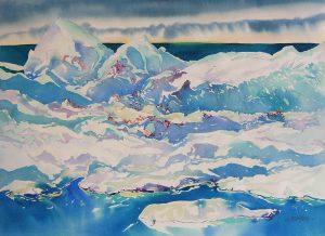 Arctic-Summer-Ice-12-22-x-30-Watercolour-1999-300x218