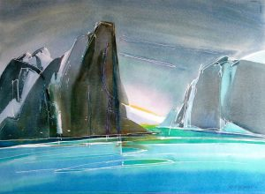 Baffin-Fjord-3-22x30-Watercolour-2002-1-300x220