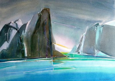 Baffin-Fjord-3-22x30-Watercolour-2002-1-400x284