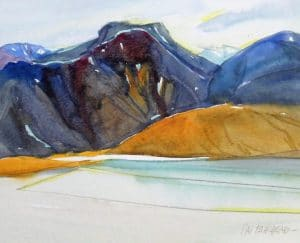 Baffin-Island-11x13-Watercolour-Graphite-2002-300x243