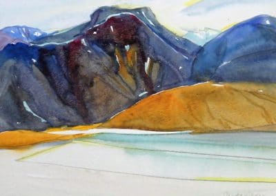 Baffin-Island-11x13-Watercolour-Graphite-2002-400x284