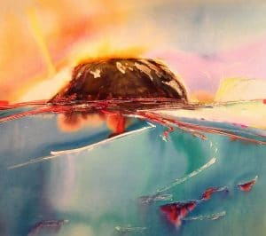 Beechy-Island-4-45x50-Watercolour-Wax-2000-300x266