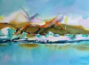 Bylot-Island-1-Nunavut-22-x-30-Watercolour-Graphite-2004-300x218
