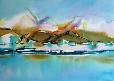 Bylot-Island-1-Nunavut-22-x-30-Watercolour-Graphite-2004-400x284