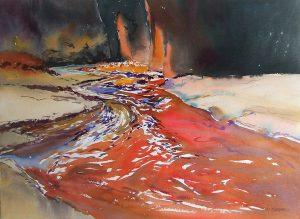 Canyon-Colorado-American-Southwest-U.S.A.-1-22x30-Watercolour-1991-300x219