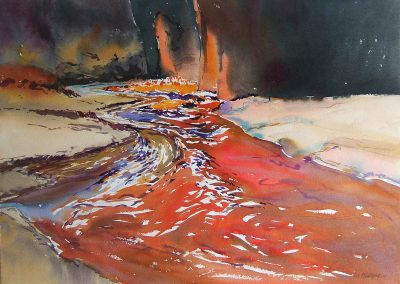 Canyon-Colorado-American-Southwest-U.S.A.-1-22x30-Watercolour-1991-400x284