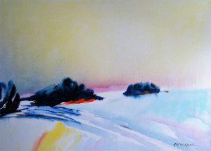 First-Light-1-Temagami-26x36-Acrylic-on-Canvas-1997-300x215
