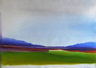 Foothills-10-22x30-Watercolour-1990-400x284