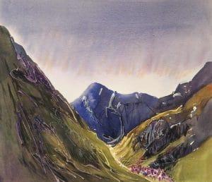 Glencoe-5-22x26-Watercolour-Conte-2011-300x258