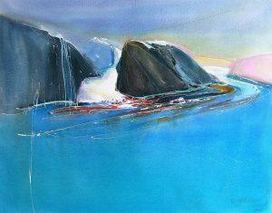 Headland-Coburg-Island-16-22x26-Watercolour-2008-300x235