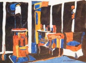 Interior-Boathouse-8.5-x-11.5-Watercolour-1961-300x221