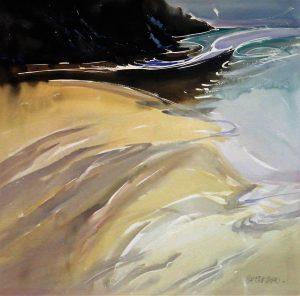 Long-Beach-Vancouver-Island-1-25.5x26-Watercolour-1990-300x296