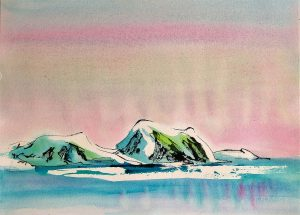 More-Bergs-11x15-Watercolour-Ink-2002-300x215