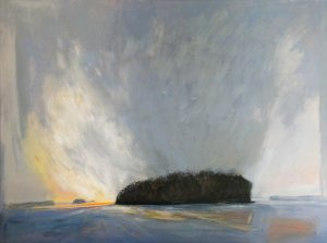 Morning-Light-Lake-Muskoka-36x48-Acrylic-on-Canvas-2012-300x223