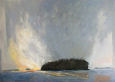 Morning-Light-Lake-Muskoka-36x48-Acrylic-on-Canvas-2012-400x284
