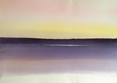 Northern-Lake-1-of-3-Multiple-22x30-Watercolour-1978-400x284