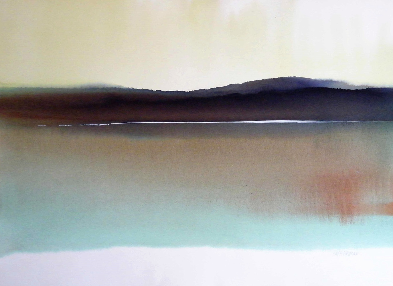 Northern-Lake-16-22.5x30-Watercolour-1978-1