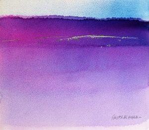 Purple-Haze-9x10-Watercoour-1995-300x262