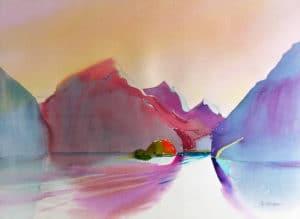 Queen-Charlotte-South-Morsby-Island-10-22x30-Watercolour-1986-300x219