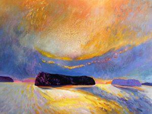 Seven-Sisters-Lake-Muskoka-2-36-x-48-Acrylic-on-Canvas-300x226