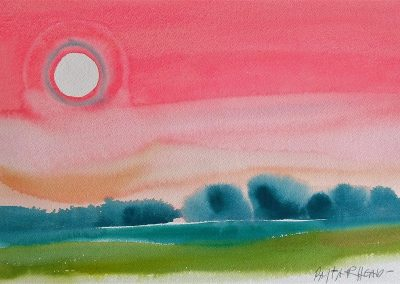 Sun-Morning-Mist-10x14-Watercolour-1980-400x284