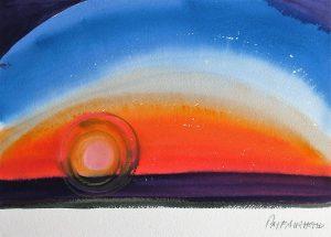 Sunrise-3-Coldwater-9x12-Watercolour-Conte-1985-300x215