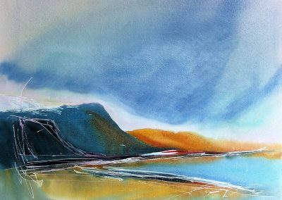 Sunsplash-at-Croker-Bay-11-22x28-Watercolour-2009-400x284