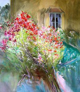 The-Secret-Garden-Charleston-Farmhouse-6-50x44.5-watercolour-261x300