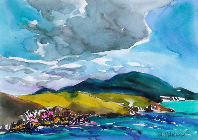 Vieques-Puerto-Rico-6-8.5x12-Watercolour-Graphite-Ink-1987-400x284