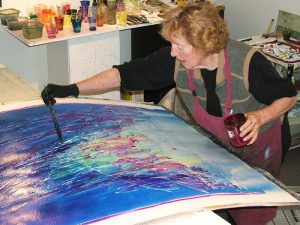 Pat-Working-in-Studio-300x225