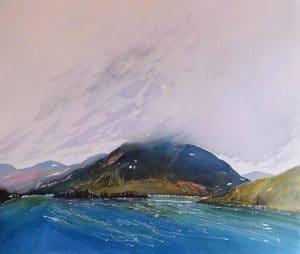 Islay-Island-22x26-Watercolour-Conte-2011-300x254